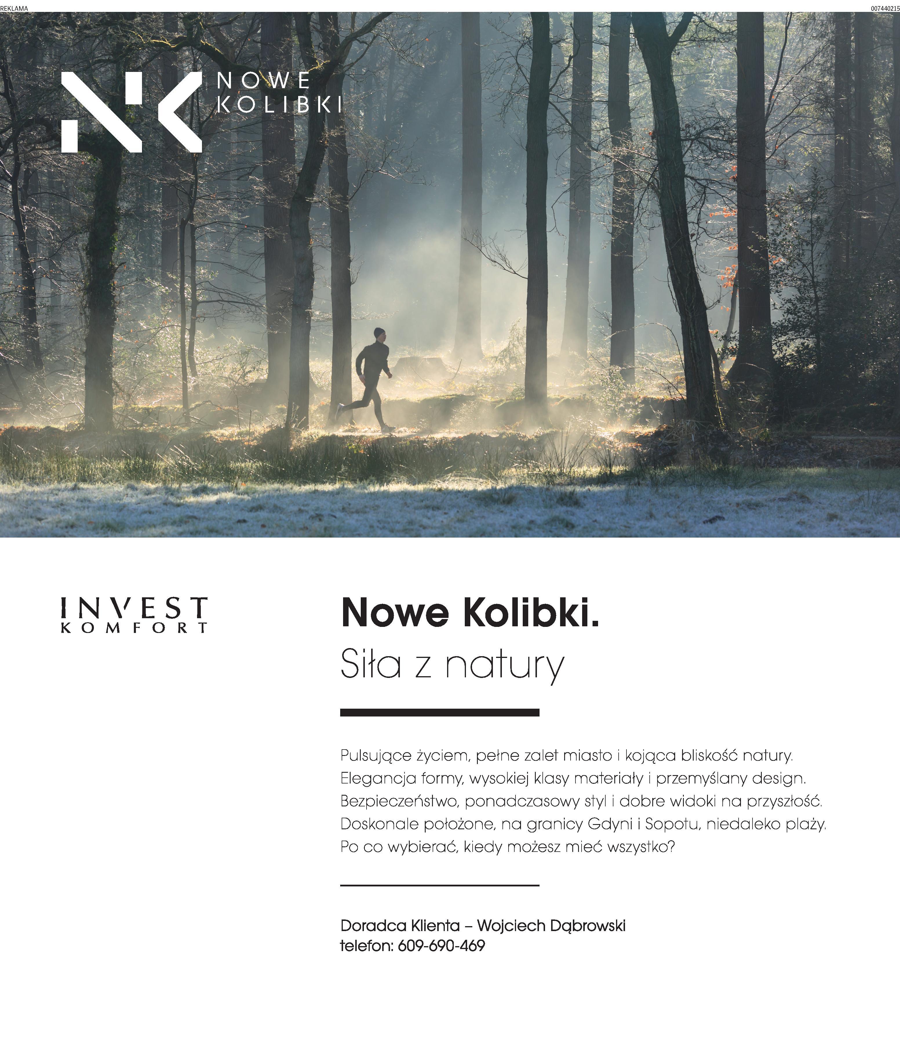 Reklama prasowa NK biegacz – Dz.B.
